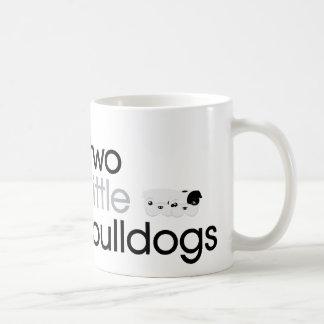 """""""Två lite bulldogg mugg"""
