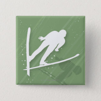 Två manar skidar banhoppning standard kanpp fyrkantig 5.1 cm