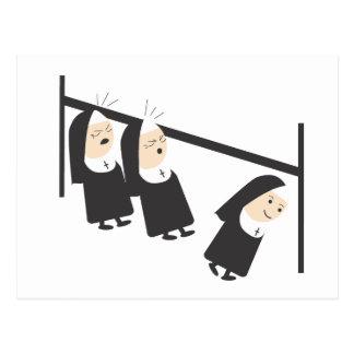 Två nunnor… vykort