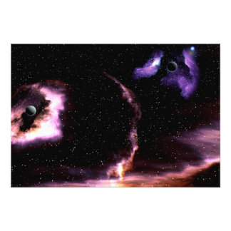 Två planet fotografiskt tryck