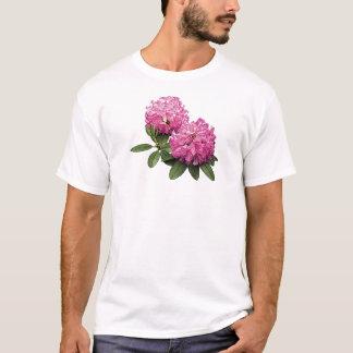 Två rosa Rhododendronsmanar T-shirts