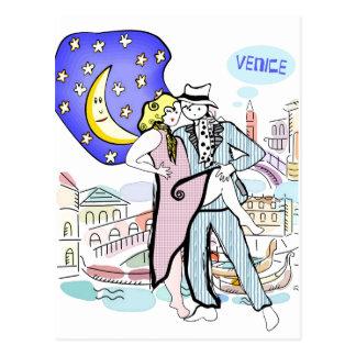 Två Tangueros i Venedig Vykort