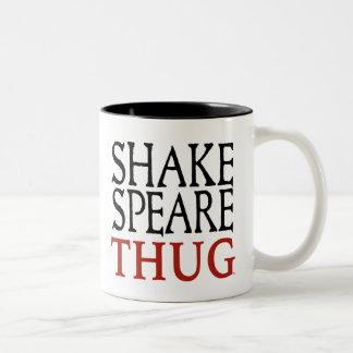 Två-Tonad mugg för Shakespeare Thug 15oz