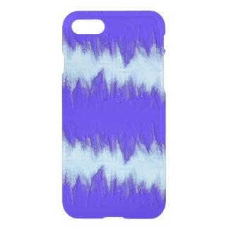 Två tonar blått pulserar iPhone 7 skal
