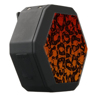 Två tonar den svart röda cheetahen svart bluetooth högtalare