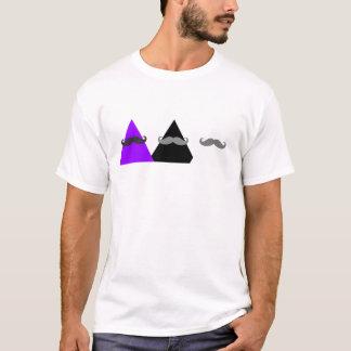 Två/tre trianglar. Tre Mustaches. T-shirt
