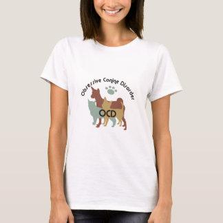 Tvångsmässig hund- oordning 2222 tee shirts