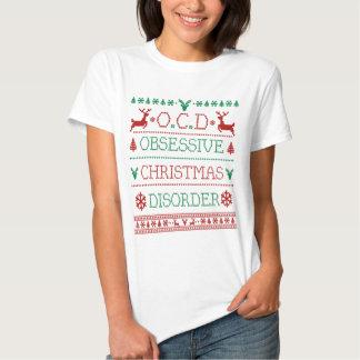 Tvångsmässig juloordning tshirts