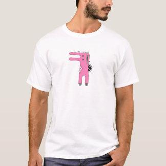 Tvångsmässig kanin t-shirts