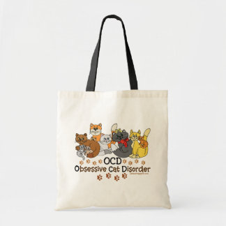 Tvångsmässig kattoordning för OCD Tygkasse