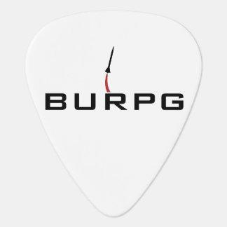 Tvåsidig gitarr Plektrum för BURPG