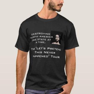 Tvåsidigt turnera t-skjortan t-shirt