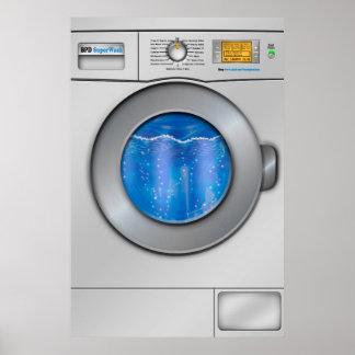 Tvätta maskinen poster