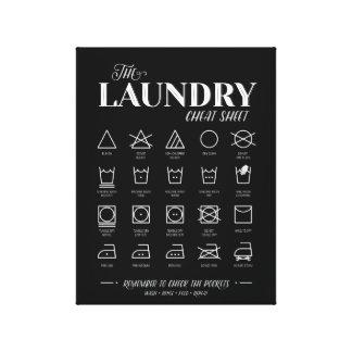 Tvättstugafusklakan Canvastryck