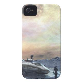 tvilling- solvärld iPhone 4 Case-Mate case