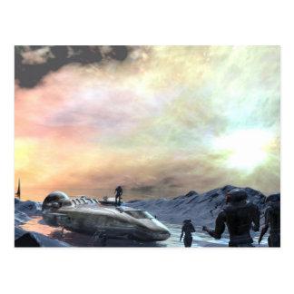 tvilling- solvärld vykort