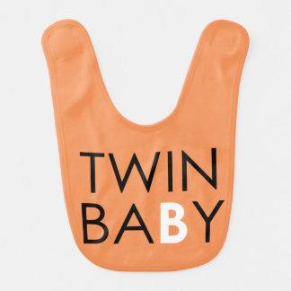 Tvilling- unisex- b-haklapp - - pumpa hakklapp