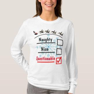 Tvivelaktig jul t shirts