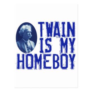 Twain är min Homeboy Vykort