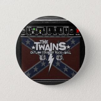 TWAINSNA Dixie ampere knäppas! Standard Knapp Rund 5.7 Cm