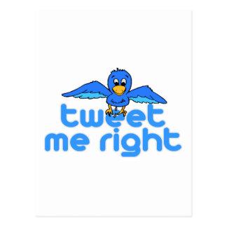 Tweet jag rätt vykort