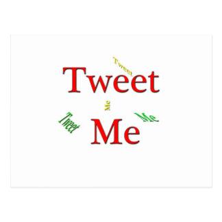 Tweet jag vykort