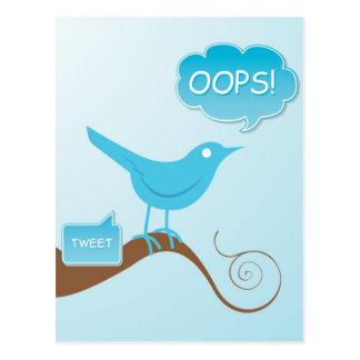 Tweet! Vykort