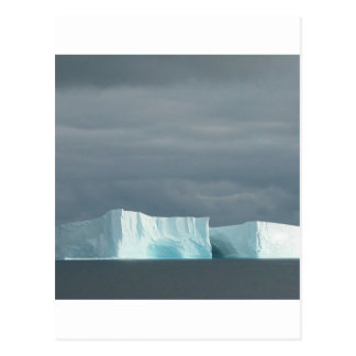 Twillingar för naturhavglaciär vykort