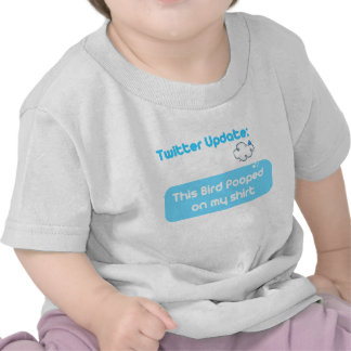 Twitter Pooped Tee Shirts