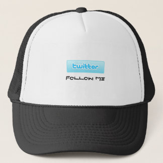Twitteren följer mig truckerkeps