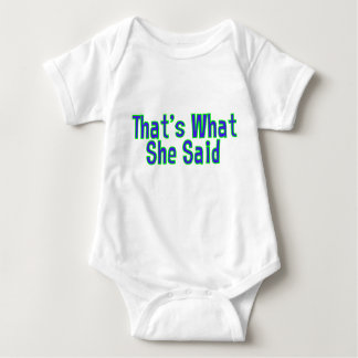 TWSS - Det är vad hon sade Tee Shirts