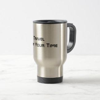 Tyck om din Time - travel mug (värme koppen), Rostfritt Stål Resemugg