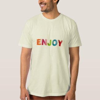 Tyck om textmanar organiska T-tröja Tee Shirt