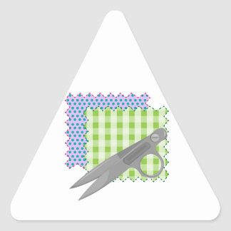 Tyg & sax triangle sticker