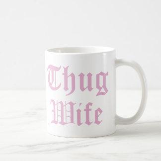 Typografi för kultur för Thugfrupop Kaffemugg