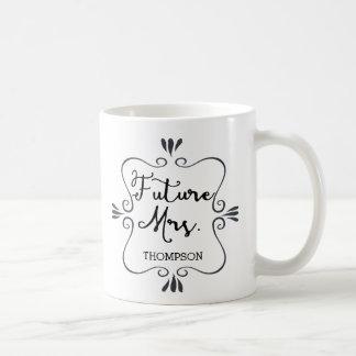 Typografiframtid Fru Kaffemugg
