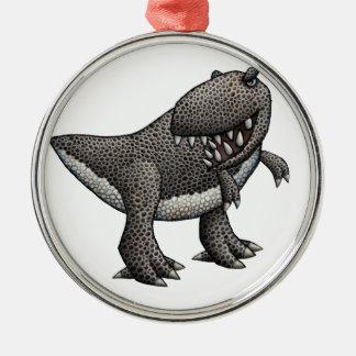 Tyrannosaurus Rex Julgransprydnad Metall