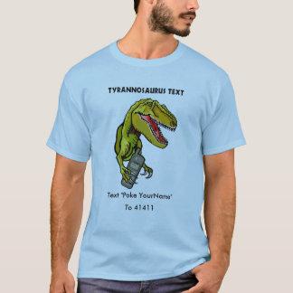 Tyrannosaurus-Text T-shirt