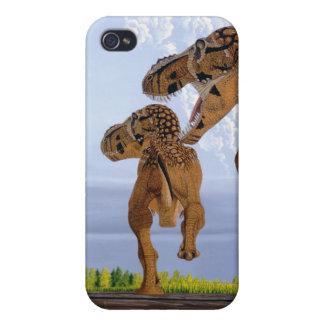 TyrannosaurusDinosauriphone case Greg Paul iPhone 4 Cases