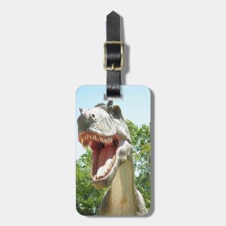 TyrannosaurusRex dinosaur Bagagebricka
