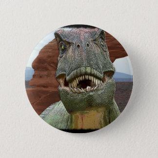 TyrannosaurusRex Dinosaur Standard Knapp Rund 5.7 Cm