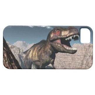Tyrannosaurusrex mycket i en kanjon iPhone 5 skydd