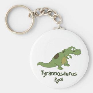TyrannosaurusRex tecknad Rund Nyckelring