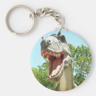 TyrannosaurusT-Rex Dinosaur Rund Nyckelring