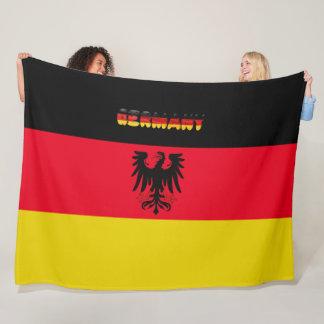 Tysk flagga fleecefilt