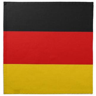 Tysk flagga på den MoJo servetten Tygservett