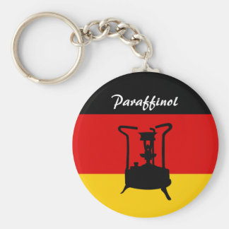 Tysk flagga | Paraffinol pressar ugnen Rund Nyckelring