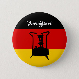Tysk flagga | Paraffinol pressar ugnen Standard Knapp Rund 5.7 Cm