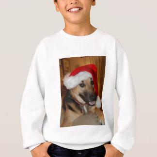 Tysk herde för jul tee shirt
