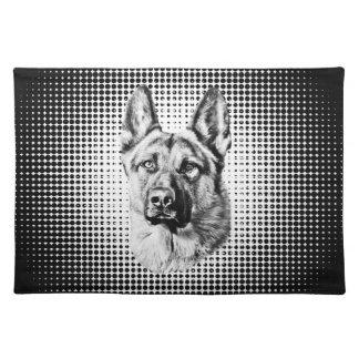 Tysk herdehund bordstablett